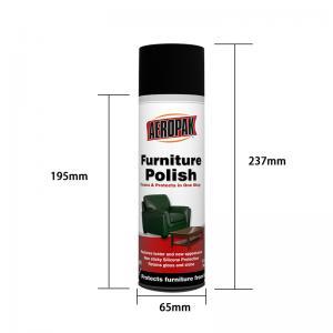 Buy cheap Household Care Anti Static 500ml Furniture Polish Spray product