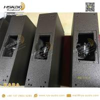 China L mini active line array speaker stand double 8 inch KARA acoustics pin array line empty box cabinet on sale