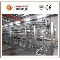 China 6T / Day Juice Paste Jam Tube In Tube Sterilizer Machine 304 Stainless Steel Material on sale