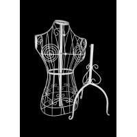 Buy cheap Jolly mannequins-vintage style female wire mannequin for with tripod stand JY from wholesalers