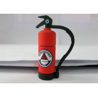 Buy cheap Personalised Red 3.0 Plastic USB Flash Drive , Fire Extinguishing Shape product