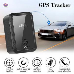 Buy cheap Spy GPS Tracker GF-09 GT02 GT808 Mini GPS Tracker Anti-Theft Device Locator from wholesalers