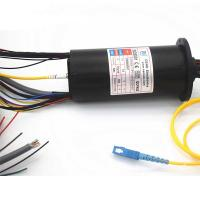 Buy cheap SM Fiber Type 1000M Ethernet Signal Fiber Optic Rotary Joint product