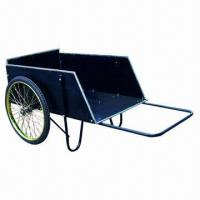 Buy cheap 14ft³ Wooden Cart with 26-inch Wheel Size product
