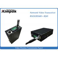 Buy cheap RS-232/RS-485 Network Video Transceiver , Wireless HD Transmitter Two Way Transmission product