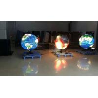 Buy cheap Indoor Rental Full Color Curved Led Display Ball for Video , Picture product