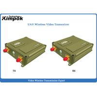 Buy cheap 1440Mhz Lightweight UAV IP Transceiver 1 Watt OFDM Video Link up to 40km Long from wholesalers