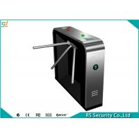 Buy cheap 304 Stainless Steel Tripod Turnstile Gate Systems, Security Turnstyle Gates product