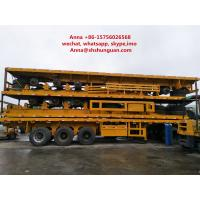 Buy cheap 40 Tons Payload Used Truck Trailers Leaf Spring Mechanical Suspension product