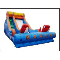 Buy cheap 2017 New Style Huge Outdoor Inflatable Bounce with High Slide with Inflatable Rock Climbing product