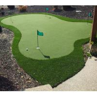 Buy cheap Green Sports Field Artificial Golf Grass Roll 15mm Pile Height 5000D Dtex product