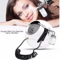 Buy cheap Portable Water Oxygen Facial2 in1 Water Oxygen Jet therapy Peeling Facial Moisturizing O2 Oxygen Spray Water Injection S product