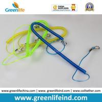China Safety Lobster Clasp Hook Flexible Fishing Line Coiled Belt on sale