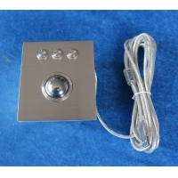Buy cheap Ruggedized 38mm Optical Trackball Pointing Device Panel Mount OTB product
