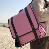 Buy cheap Fashion Pink Panvas Backpacks For School Environmental Friendly from wholesalers