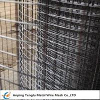 Buy cheap Square Welded Wire Mesh |Larger Opening Than Woven Mesh 12.7x12.7x0.9 mm product