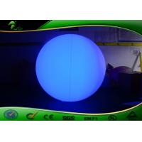 Quality 2M Inflatable LED Balloon / Inflatable Colorful Balloon With LED Lighting For for sale