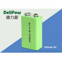 Buy cheap Rapid Charge 180mAh 9V Rechargeable Nimh Batteries For Industrial product