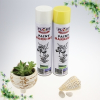 Buy cheap 650ml White Road Acrylic Based Spray Paint Thermoplastic Road Marking Paint product