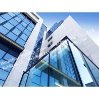 Buy cheap Aluminum Exterior Double Glass Facade Curtain Wall Insulation Building System product