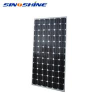 Buy cheap High efficiency 60 cells black friday solar panel with Anodized aluminium alloy frame product