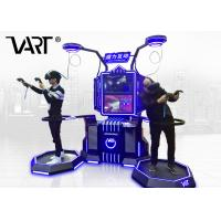 Buy cheap VART Magic Interactive Double Players Standing 9D VR Simulator For Game Center from wholesalers