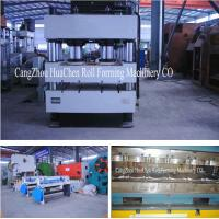 Buy cheap Stone Coated Metal Rood Tile Roll Forming Production Line High Capacity product