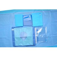 Clinic Disposable Fenestrated Surgical Drape For Hip Surgery Hip U Drape