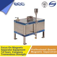 Permanent High Gradient Magnetic Separator For Dry Ceramic And Refractory Materials