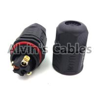 Buy cheap LLT-L20 IP67 3 Pin Waterproof Cable Connector Video Cable Connectors Premium Quality product