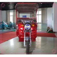 Battery Operated Electric Passenger Tricycle 24 Tube Controller 2750*950*1750