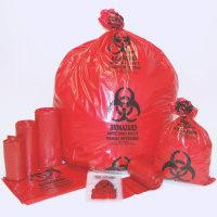 Buy cheap BIOHAZARD BAGS, AUTOCLAVABLE BAGS, RED BAG, YELLOW BAG, BLUE BAG, BLACK BAG, MEDICAL WASTE product