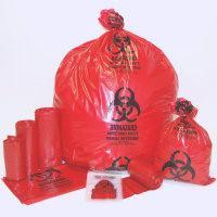China BIOHAZARD BAGS, AUTOCLAVABLE BAGS, RED BAG, YELLOW BAG, BLUE BAG, BLACK BAG, MEDICAL WASTE on sale