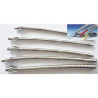 Buy cheap Electrical Stainless Steel flexible Conduit for sensor cable protection from wholesalers