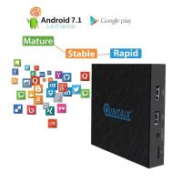 Buy cheap QINTAIX Amlogic T962E 2GB+16GB Quad-core 2.4G WiFi BT4.1 TV BOX 4K HDR android from wholesalers