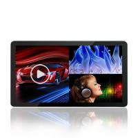 China Remote Control Digital Advertising Lcd Screens , High Brightness Flat Touch Screen Monitor on sale