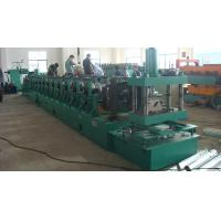 Buy cheap 16 Steps Station Sigma Section Guard Rails Roll Forming Machine With CE LB-SG100 product