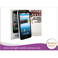 """Buy cheap 4.3"""" Star A910 Smart Phone Dual SIM Android 2.2 WiFi GPS TV mobile phone from wholesalers"""