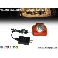 Buy cheap 15000 Lux Cree Digital Mining Hard Hat Led Lights 6.2ah Battery Oled Screen product