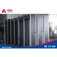 China 33 Zone Door Frame Gold Metal Detectors Security Gate With Low Power Consumption on sale