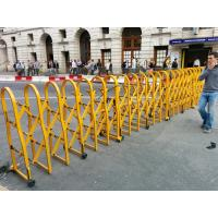 Buy cheap Powder Coated Aluminium Safety Accordion Barrier Gate For Crowd Control With from wholesalers