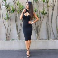 Buy cheap Beautiful Bandage Dresses Multi Size , Cut Out Bandage Bodycon Dress product