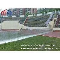 Buy cheap Aluminum Alloy Crowd Control Barriers Longer Ramp Two Parts Lock Systems product