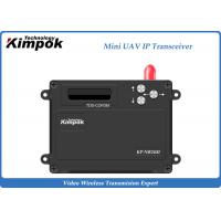 Buy cheap 2.4Ghz Mini UAV TDD Transceiver Video + Data IP Transmitter and Receiver 1 Watt from wholesalers
