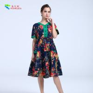 Buy cheap YIZHIQIU Casual Dresses cotton anti-static dress product