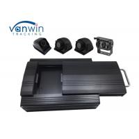 Buy cheap HD Sturdy Mobile DVR 4 Channel 2TB HDD storage with 4 Cameras RS232 for Bus product