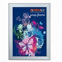 Buy cheap A3 Snap Poster Frames Silver Lightweight Durable Rigid Plastic Sheet product