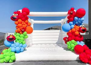 Buy cheap Commercial Grade Wedding Party Used White Bounce Castle Inflatable Bouncy Castle For Wedding product