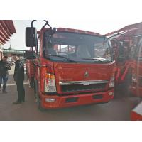 Buy cheap 12 T Loading Capacity Sinotruk HOWO Light Duty Trucks 3.76L Engine Displacement product
