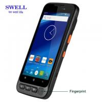Buy cheap Handheld Terminal 5 Inch Industrial Smartphone With Fingerprint 2D Scanner And from wholesalers